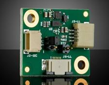 Corning® Varioptic® Variable Focus Liquid Lens Driver Board with Maxim MAX14574 Driver and I2C/DC Input